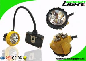 China 6.8Ah High Power LED Headlamp 15000lux IP68 With Low Power Warning Function on sale