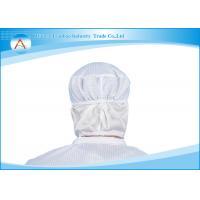 Dust-free Plant Unisex Antistatic Stripe Working ESD Cap For Women / Men
