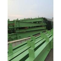 Customized Green H Section Painting Structural Steel I Beam U Channel-Workshop