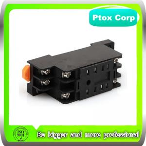 China Original OMRON Style PYF08A 8 Pins Din Rail Mount Relay Base for MY2N/HH52P Power Relay on sale