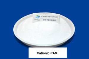China White Granule Cationic Polyacrylamide Flocculant CAS 9003-05-8 For Water Thickening Agent on sale