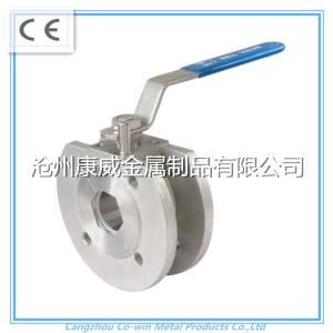 China China supplier stainless steel cf8m/cf8 1PC Flanged ball valve on sale