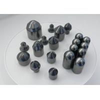 Impact Toughness Tungsten Carbide Buttons For Geological Exploration