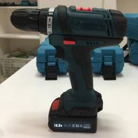Variable Speed Battery Powered Drill , Steel / Wood Portable Electric Drill