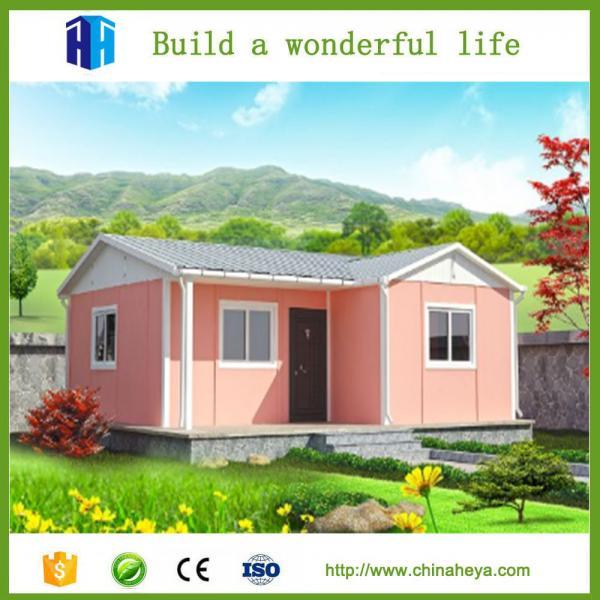 Modern Homes Steel Frame Prefabricated House Price In