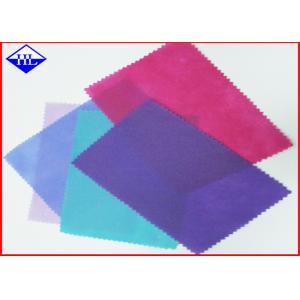 China 100% PP Spunbonded Non Woven Fabric Cloth Rolls For Shoe Cover Shrink Resistant on sale