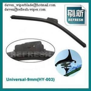 China universal soft wiper blades on sale