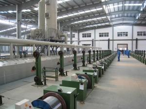 China Multi Purpose Wire Rewinding Machine For Flux Cored Welding Wire / Solid Welding Wire on sale