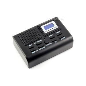 China Le mini enregistreur vocal de téléphone de Digital enregistrent automatiquement des affichages d'affichage à cristaux liquides de conversations on sale