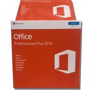China Software Office 2016 Pro Plus Keys Sent By Email Key Card Stickers Microsoft Office 2016 PP License on sale