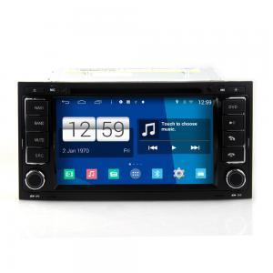 China 72DIN android car dvd android 4.4.4 HD 1024*600 for VW Touareg with 4 Core CPU, Mirror link on sale