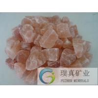 Red lumps crystal himalayan mountain natural Rock Salt granular