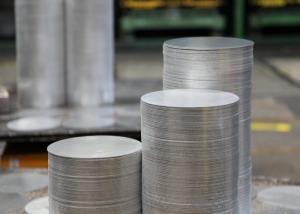 China Coated Aluminum Circle Blanks , Cookware Pot Making Anodized Aluminum Discs on sale