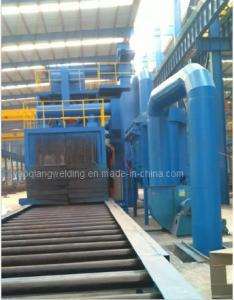 China Steel H-Beam Shot Blasting Machine 7M* 3M* 3M on sale