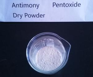 China 3 - 5μM Average Particle Size Antimony Pentoxide Dry Powder Antimony Trioxide supplier
