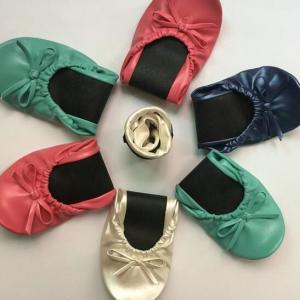 China Wholesaler of Comfortable Ladies Fold Up Shoes – Foldable Ballet Pumps Various Sizes & Colours Available on sale