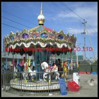 Beautiful & Musical amusement park carousel horses for sale