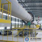 Stable Running Bauxite Rotary Kiln 48-1000T/D Simple Flexible Operation