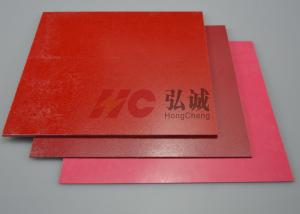 China Red GPO3 Fiberglass Sheet / Fiberglass Resin Sheets Specified For Automotive Electronic on sale