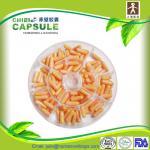 cápsulas vegetais vazias do tamanho 3 da grande-produção