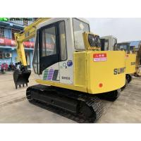China 2003 Year Used Excavator Machine 4200h Hour 6t Mini Sumitomo Sh60 Excavator on sale