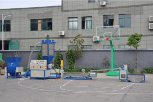 China eps xps foam plastic recycling machine without cold pressing and hot melting on sale