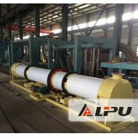 Organic Fertilizer Drying Production Line For Poultry Manure / Straw Agricultural Wastes