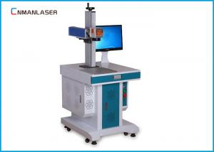 China CE / FDA 1064nm Fiber Metal Laser Marking Machine 20w  with Galvanometer Scanner on sale