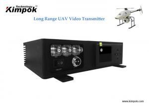 China 20W HD COFDM Video Transmitter H.265 Wireless Video Camera Transmitter Fast-moving transmission on sale