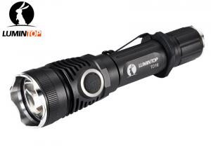 China Outdoor Security Cree LED Flashlight with Dual Switch and Attacking Head on sale