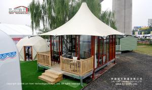 China 5x5m Luxury Hotel Wedding Party Tent With Table Chairs on sale