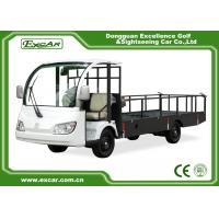 2 Seat 72V Trojan Batteries Electric Utility Carts KDS 7.5KW AC Motor