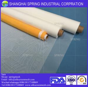 China 77T Micron Polyester Mesh Screen Printing Fabric on sale