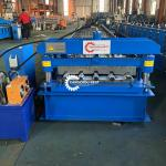 12m/Min Color Steel PLC Roof Sheet Roll Forming Machine For Building