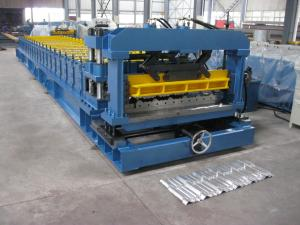 China Cr12 Mould Steel Cutter Roof Tile Roll Forming Machine 5.5KW ISO9001 with high production speed on sale