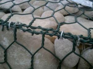 China 80*100 Hot dipped galvanized Hexagonal Gabion /Gabions Box for Retaining Wall on sale