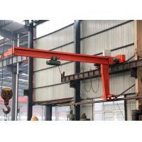 China 1-10 T Industrial Swing Arm Lift Jib Crane , Workstation Jib Crane 360 Degree Rotating on sale