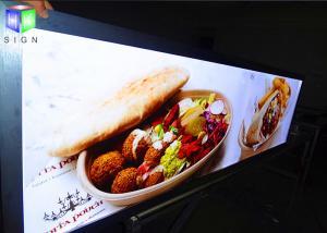 China Aluminum Profiles LED Illuminated Light Box Frameless Poster Frame 27X40 on sale