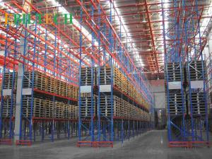 China Very Narrow Aisle Narrow Storage Racking  Saving The Width of The Forklift Aisles on sale