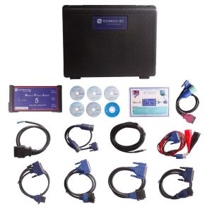 China Dearborn Protocol Adapter 5 Truck Diagnostic Tool Heavy Duty Truck Scanner for VOLVO Truck on sale