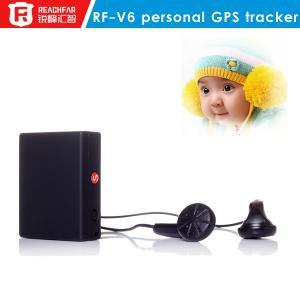 China Ningunos Gps del reloj que siguen el dispositivo para los niños, mini perseguidor rf-v6 del microprocesador de GPS on sale