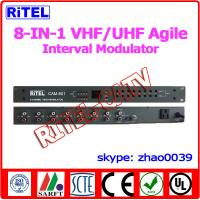 8-in-1 VHF/UHF Agile Interval AV Converter/Modulator for Hospital/community/campus