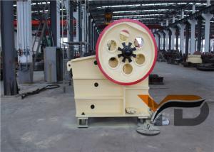 China 30 KW Mini Jaw Crusher 400 X 600 Electrical Energy Stone Crushing Machine on sale