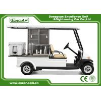 2 Passenger Electric Food Cart For Park Services With Trojan Battery