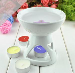 China Colorful Essential Oil Warmer Room Fragrance Aromatherapy Oil Candle Burner MS-CB030 on sale