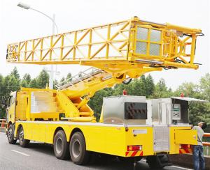 China 8x4 Arm Type Bridge Inspection Vehicle Bailey With CA1310P63K2L6TCA1 Chassis on sale