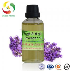 China 100% organic lavender essential oil for hair cosmetic on sale
