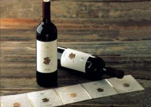 China Adhesive Paper Wine Label Stickers , Spot UV Surface Handle Printable Wine Labels on sale