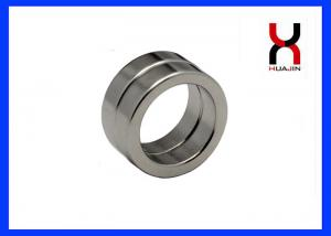 China Permanent N35 N42 N52 Magnetic Ring Neodymium Donut Magnet Customized  Round Ring Magnet on sale