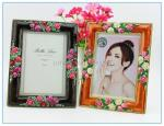 China Shinny Gifts Alloy handmade enamel photo frame for travel gifts wholesale
